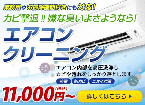 カビ撃退!!嫌な臭いよさようなら! エアコンクリーニング 11,000円(税込)~