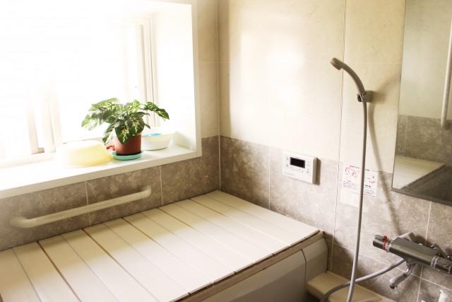 浴槽のふたは使用時以外閉める